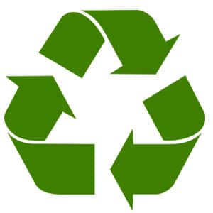 recycle your used or junk car, truck or van logo